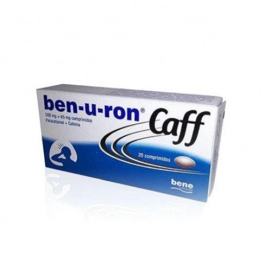 Ben-u-ron Caff x20 Tablets | 500/65mg