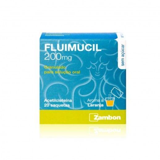 Fluimucil x20 Gran Sol Oral | 200mg
