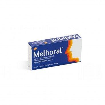 Melhoral x20 Comprimidos | 500/30mg