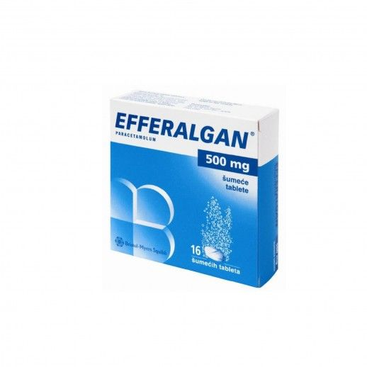 Efferalgan x16 Efferv Tablets | 500mg