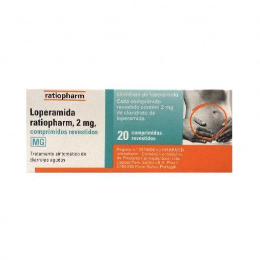 Loperamida Ratiopharm x20 Comp Rev | 2mg