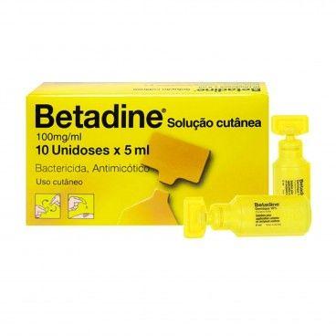 Betadine Unidoses x10 | 5mL