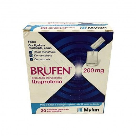 Brufen x20 Grainy Sac | 200mg