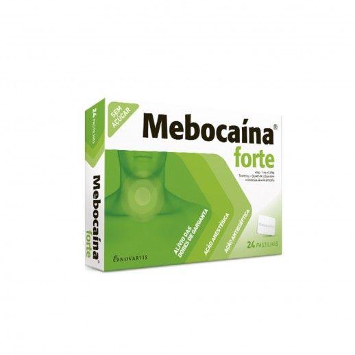 Mebocaína Forte x24 Pastilhas | 4/1/0,2mg