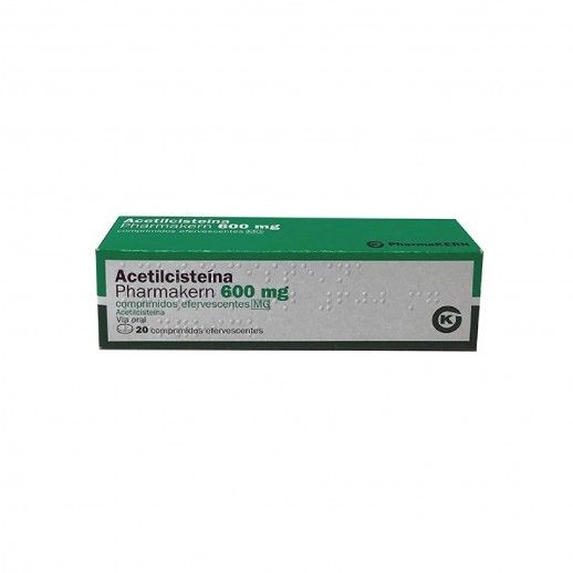 Acetilcisteína Pharmakern | 600mg