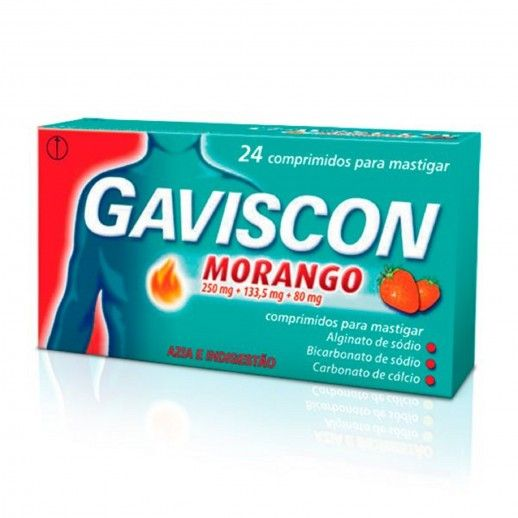 Gaviscon Strawberry Chewable Tablets | x24