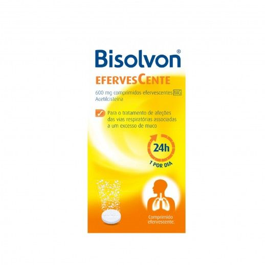 Bisolvon Linctus Adulto x10 Comp Eferv | 600mg