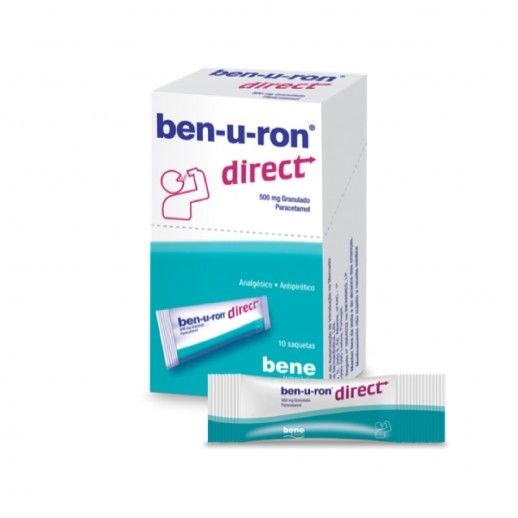 Ben-u-ron Direct x10 Saq | 500mg