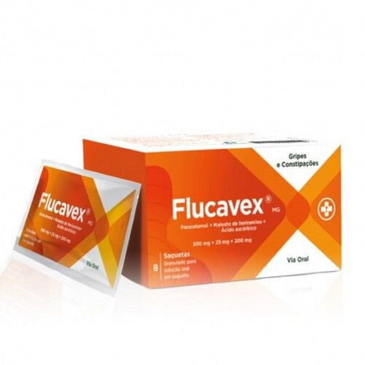 Flucavex x8 Sachets | 500/25/200mg