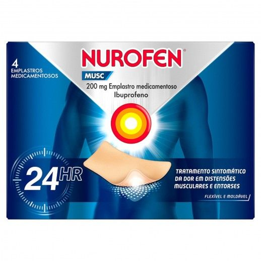 Nurofen Musc x4 Plaster | 200mg