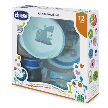 Chicco Food Set Blue | 12m+