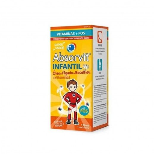 Absorvit Infantil Cod Liver Oil | 150mL