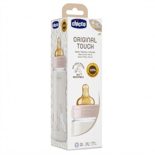 Chicco Bib Original Touch 330mL | 4M+