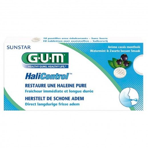 Gum Halicontrol Comp | x10