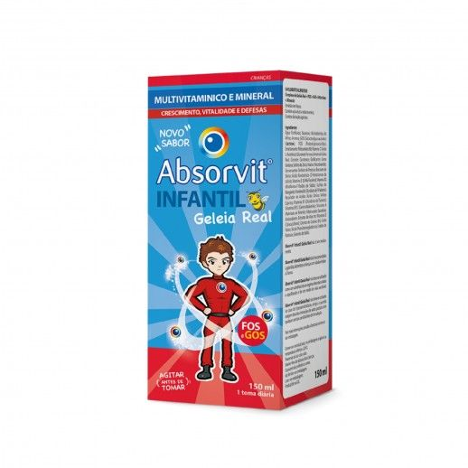 Absorvit Infantil Gel Real | 150mL