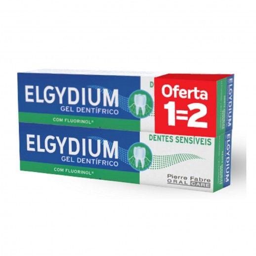 Elgydium Dentes Sensíveis Gel | 2x75mL