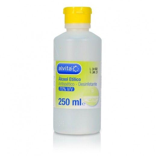 Alvita Álcool Etílico 70% V/V | 250mL