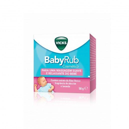 Vicks Babyrub Hydra Calm Oint   50g