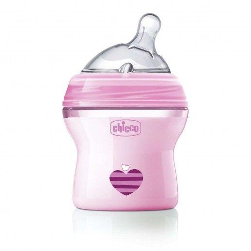 Chicco Nat Feel Bottle 150mL   0M+