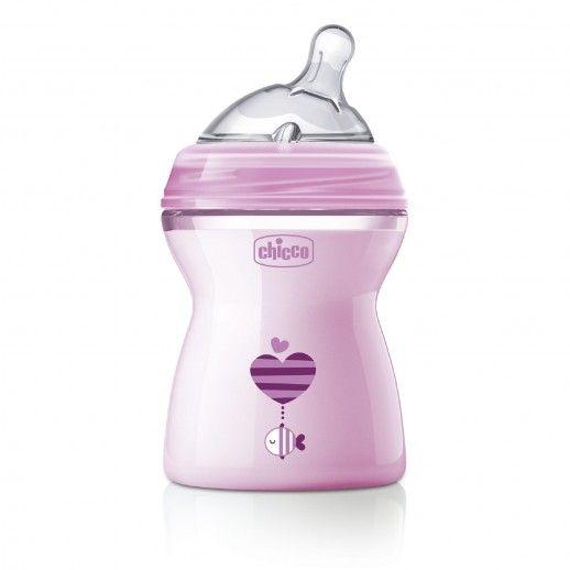 Chicco Nat Feel Bottle 250mL | 2M+