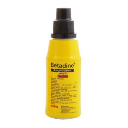 Betadine Solução Cut | 125mL