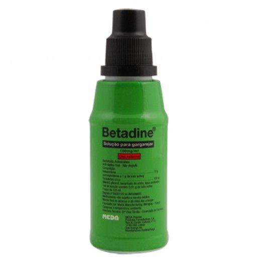 Betadine Solução Garg | 125mL