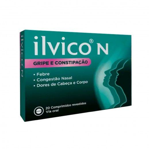 Ilvico x20 Coated Tablets   250/3/10/36mg