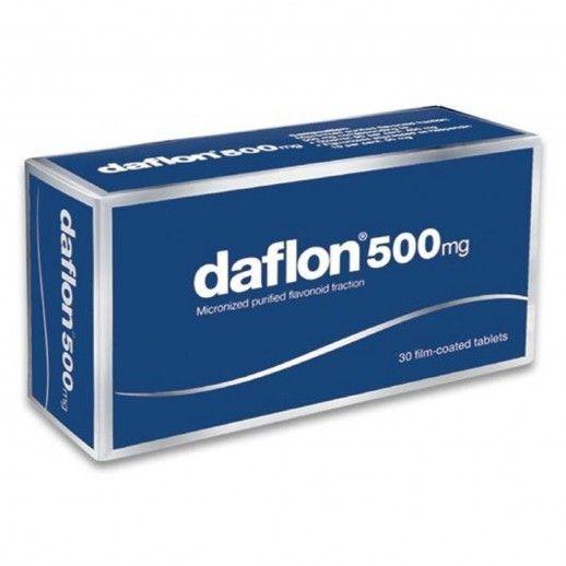 Daflon 500 x60 Coated Tablets | 500mg