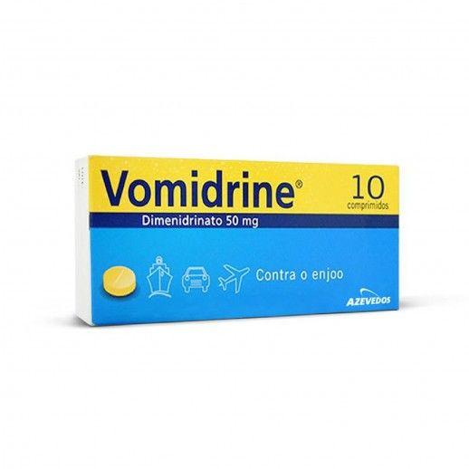 Vomidrine x10 Tab | 50mg