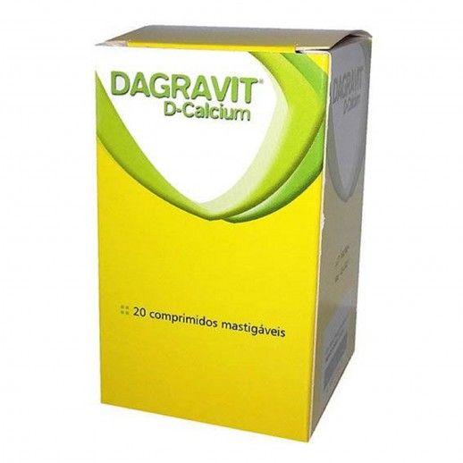 Dagravit D Calcium Chewable Tablets | x20