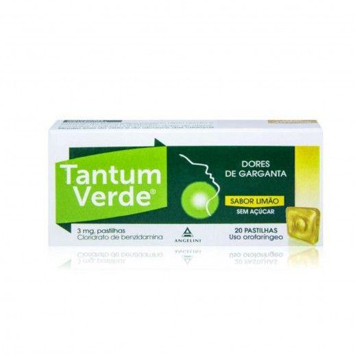 Tantum Verde Lemon No Sugar x20 tab | 3mg