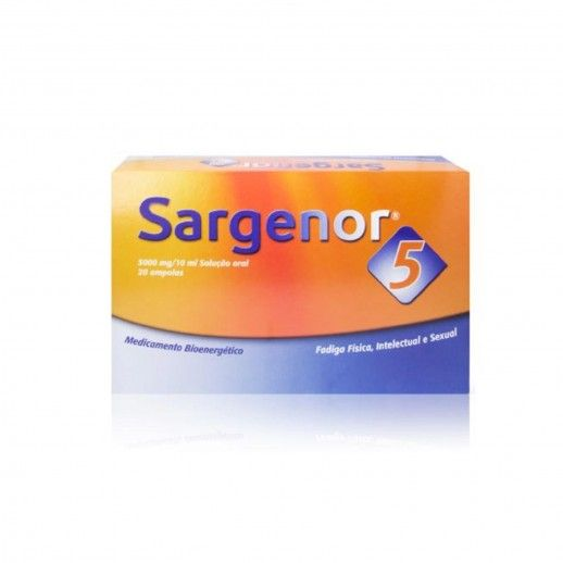 Sargenor 5 x20 Amp Beb | 5000mg