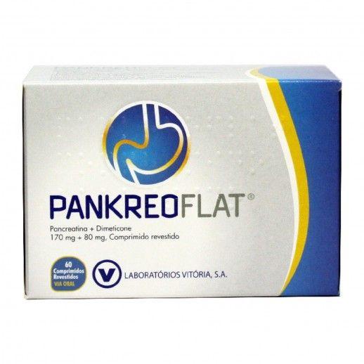 Pankreoflat x60 Tablets | 172/80mg