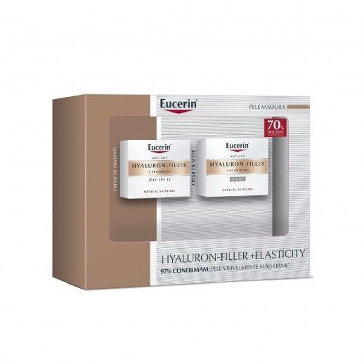 Coffret Eucerin Hyaluron-Filler+Elasticity Creme