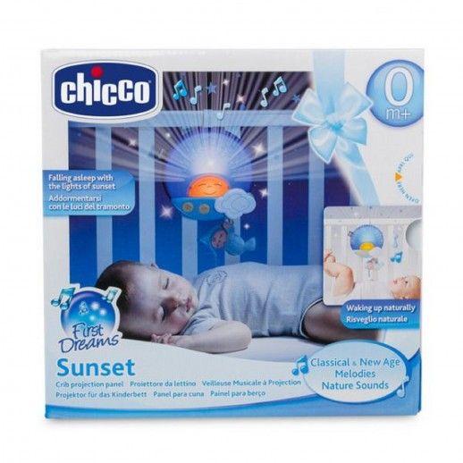 Chicco Sunset Crib Panel Blue
