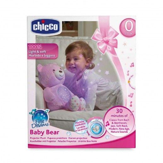 Chicco Teddy Bear Good Night Pink