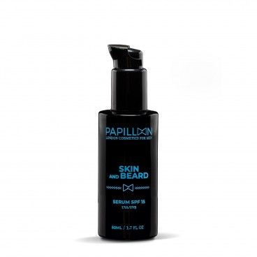 Papillon Sérum Barba e Pele SPF15 | 50mL