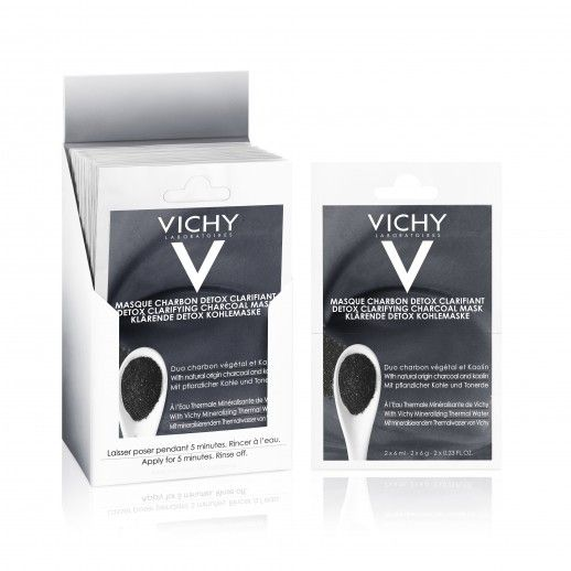 Vichy Pur Thermal Charcoal Mask | 12mL