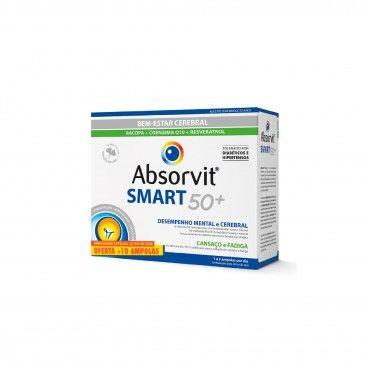 Absorvit Smart 50+ x40 Promocional
