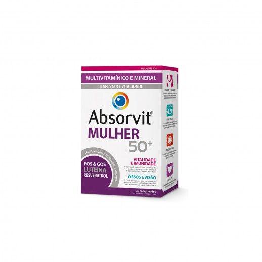 Absorvit Woman 50+ x30 Tablets