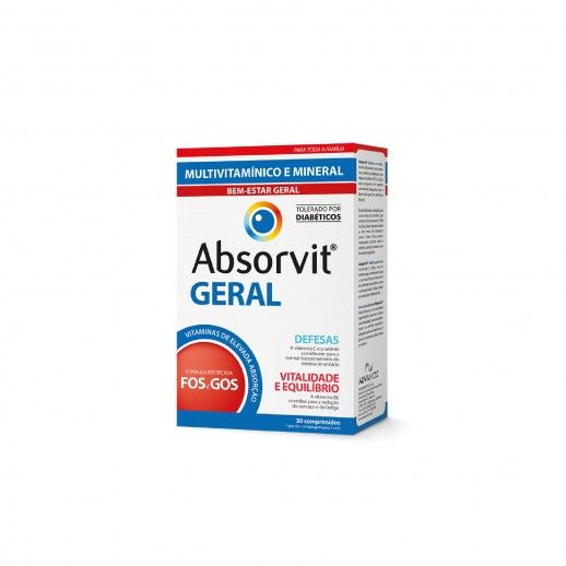 Absorvit Geral x30 Tablets