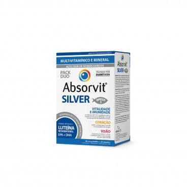 Absorvit Silver x30 Tablets + 30 Caps