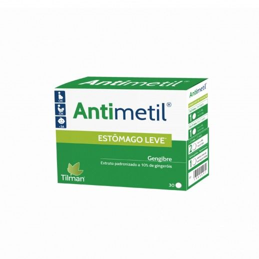 Antimetil x30 Comprimidos