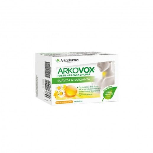 Arkovox Mel Limão x24 Pills