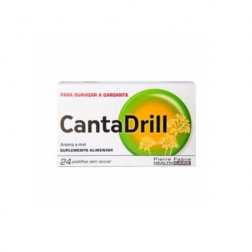 Cantadrill x24 Pastilhas S/Açúcar
