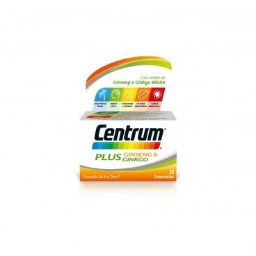Centrum Plus Ginseng Ginkgo x30 Tablets