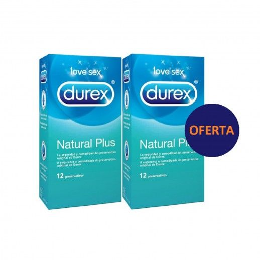 Durex Natural 12+12 Promocional