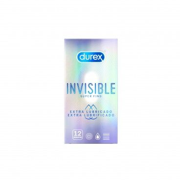 Durex Invisible x12 Condoms