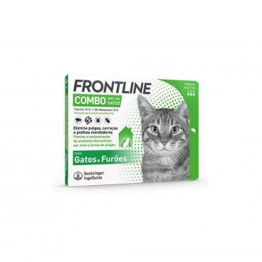 Frontline Combo Gato 3x0,5mL