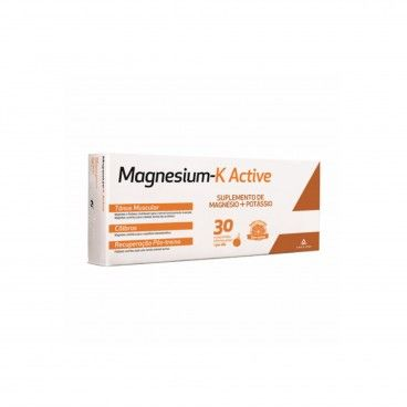 Magnesium K Active x30 Effervescent Tablets